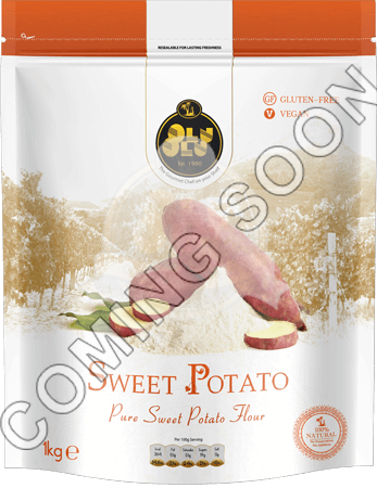 Sweet Potato Flour project