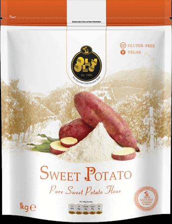 Sweet Potato Flour project